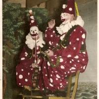Bunter Abend im Schützen: Die beiden Musikclowns Gustav Kabusreuther und Alfred Koch brachten das Publikum zum Lachen.