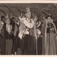 Bunter Abend: Präsident Konti I. absolvierte seine Begrüßungsrede.