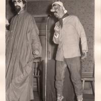 Bunter Abend: Der Sputnik, eine alte Erfindung aus dem Jahre 1458. Gespielt von Dieter und Walter Stöß.
