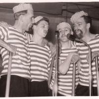Bunter Abend: Um Musik, Gesang, Tanz und Parodie ging es bei der großen Schneckenburg-Revue.
