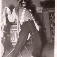 Bunter Abend: Mit dabei der tanzende Matrose (Martin Fistler)