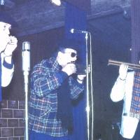 Jubiläums-Abend: Das Mundharmonika-Trio Hirt-Jung-Kauth spielte drei Rififi-Ganoven.