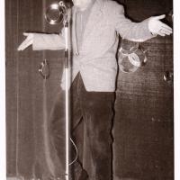 Bunter Abend im Schützen: Elfer-Benjamin Rainer Krieglstein als Entertainer.