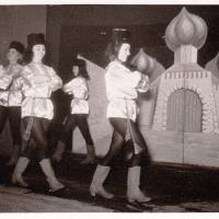 Bunter Abend im Schützen: Es tanzten: I. Bischoff, H. Gallmann, M. Heitmar, I.Staub, I. Stöß, W. Wetzel. Leitung: I. Stöß.