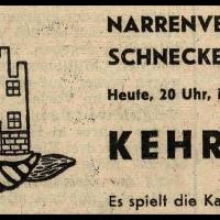 Kehraus (Verbrennung) im Ziegelhof.