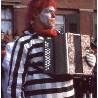 Schmutziger Donnerstag: Herbert May von der Clowngruppe.