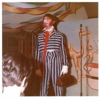Narrenkonzerte im Barbarossa: Ewald Volz in seiner Paraderolle als Clown.