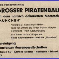 Grosser Piratenball auf der MS München.