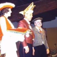 50 Jahre Schneckenburg: Der Präsident hatte viele Narren zu ehren.