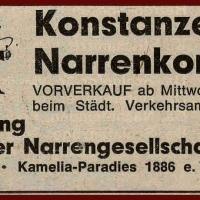 Narrenkonzerte im Konzil: Diesmal wieder im Konzil.