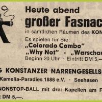 Fasnachtsball im Konzil.