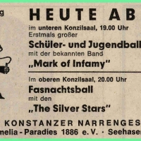 Schüler-, Jugend- und Fasnachtsball im Konzil.