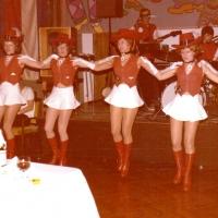 Die Schneckenburggarde auf dem Ball im Konzil.