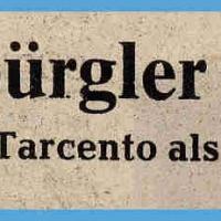 Der Fanfarenzug in Tarcento.