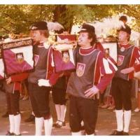 Beim Pfarrfest von der Bruder-Klaus-Gemeinde am 21. Juni war der Fanfarenzug auch vertreten.