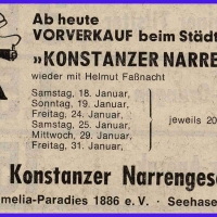 Narrenkonzerte im Konzil.