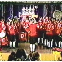Narrenkonzerte im Konzil: Zur Eröffnung spielte der Fanfarenzug unter der Leitung von Günter Uetz.