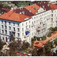Fanfarenzug-Reise nach Locarno: Natürlich wurde im Grand-Hotel residiert.