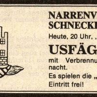 Usfägete der Schneckenburg im Ziegelhof.
