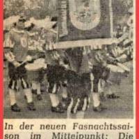 Fasnachtseröffnung des Fanfarenzuges auf dem Gottmannplatz.