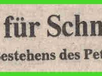 60 Jahre Schneckenburg: Ordensregen für die Schneckenbürgler.