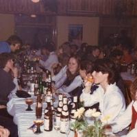 60 Jahre Schneckenburg: Nun konnte man zum gemütlichen Teil übergehen.