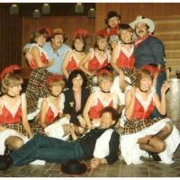 Narrenkonzerte im Konzil: Als Cowboys waren im Saloon: Jörg Deicher, Hans-Peter Pfundstein, Harald Deicher und Rolf Beron.