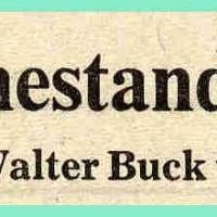 Verabschiedung von Elferrat Walter Buck in den närrischen Ruhestand.