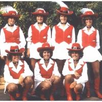 Die Schneckenburg-Garde bei der Dorffest-Eröffnung in Wollmatingen.