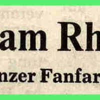 Der Fanfarenzug zieht mit der GKF in den Rheinsteig. Südkurierbericht.
