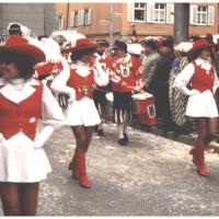 Die Schneckenburggarde beim Umzug am Fasnachts-Sonntag.