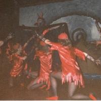 Narrenkonzerte im Konzil: Das höllische Höhlenspektakel des Schneckenburg-Balletts.
