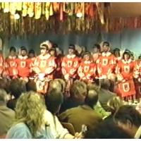 11.11. in der Handwerkskammer: Musikalischer Auftakt des Fanfarenzuges unter der Leitung von Harald Deicher.