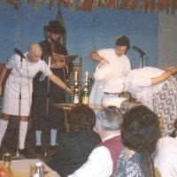 11.11. in der Handwerkskammer: Der Jungelfer Rolf Reisacher wird getauft.