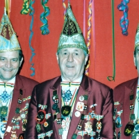 40 Jahre Elferrat: Mit Paul Bischoff, Konti Uetz und Walter Stöß.