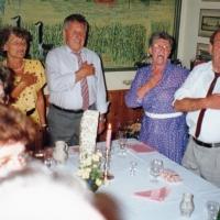 40 Jahre Elferrat: Beim Singen des Badnerliedes.