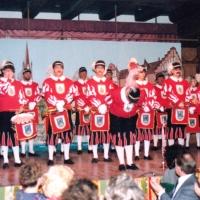 Narrenkonzerte im Konzil: Zur Eröffnung spielte der Fanfarenzug der Schneckenburg unter der leitung von Harald Deicher.