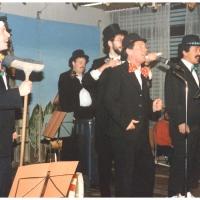 11.11. in der Handwerkskammer: Es musizierten und sangen mit: Rudi Deutinger, Norbert und Uwe Fiedler, Ekkehard Moser, Armin Ott, Rolf Reisacher und Jürgen Stöß.