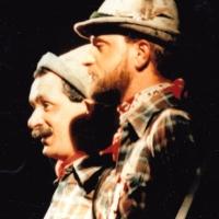 Narrenkonzerte im Konzil: Zwei Wanderer vom Schwabenland möchten etwas vortragen; dargestellt von Ekkehard Moser und Bernd Mutter.
