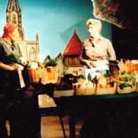 Narrenkonzerte im Konzil: Petershäusler Wochenmarkt mit Elfriede Boschoff und Helga Matheis.