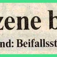 Narrenkonzerte im Konzil: Zeitungs-Artikel.