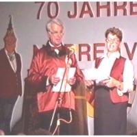 11.11. in der Handwerkskammer: Mit dabei waren natürlich auch Marga und Wolfgang Theuerjahr.