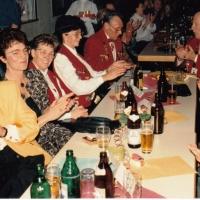 70 Jahre Schneckenburg: Die geladenen Gäste kamen langsam in Hochstimmung.
