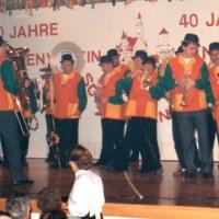 70 Jahre Schneckenburg: Am Ende des Programms durfte die Clowngruppe unter der Leitung von Gerd Zachenbacher nicht fehlen.