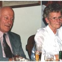40 Jahre Elferrat. Jubilar Walter Buck mit seiner Frau Trudel.