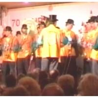 11.11. in der Handwerkskammer: Die Clowngruppe unter der Leitung von Gerd Zachenbacher.