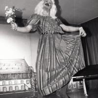 11.11. in der Linde: Hier die Prinzessin Ekki Moser noch einmal alleine auf dem Bild.