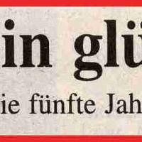 11.11. in der Linde: Zeitungsüberschrift Südkurier.