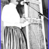 11.11. in der Linde: Die Gesangsnummer mit Ekki als Muezin.