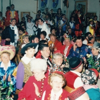75 Jahre Schneckenburg: Im Publikum herrschte eine bunte Stimmung.